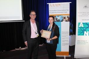Grace Moran AAAPC award